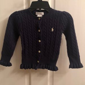 Ralph Lauren Cardigan Sweater.  NWT